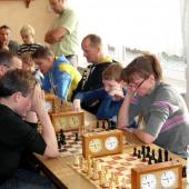 Weihnachtsfeier und Familienschachturnier der SG Großdrebnitz Abt. Schach am 21.12.2013